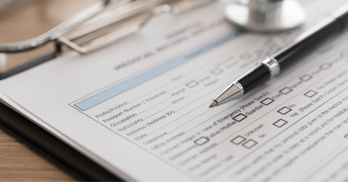 If you meet the required conditions, you must submit your medical record to apply for disability.