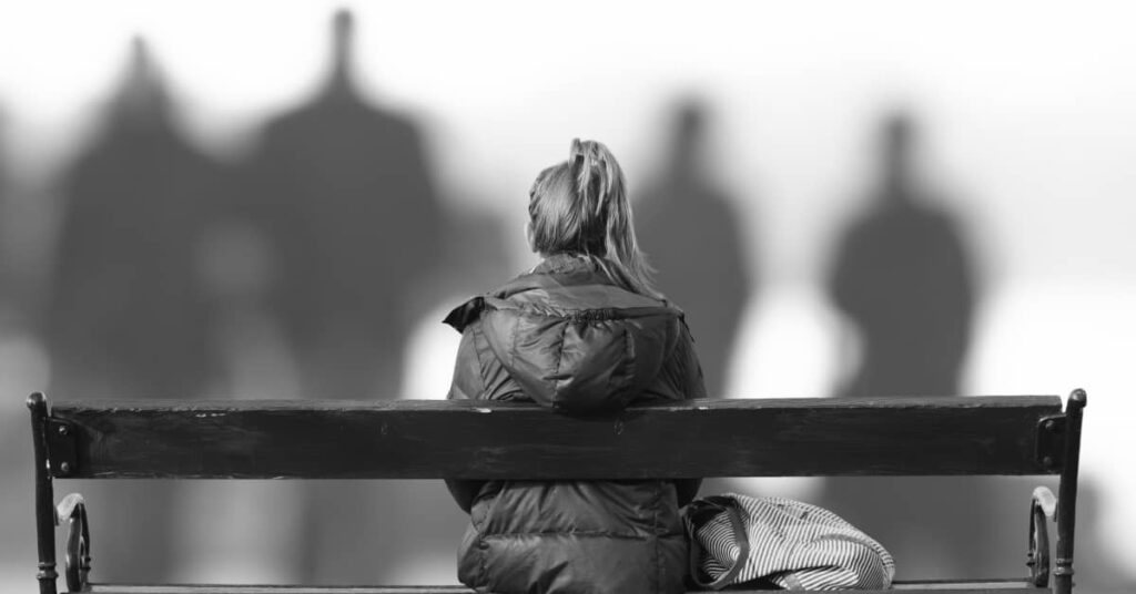 People with social anxiety are at high risk of developing depression.